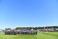 【選手権予選 北海道】札幌第一0-1北海|コンサドーレ札幌の本拠地でもある厚別競技場で行われた|写真:金子拓弥(サッカーダイジェスト写真部)
