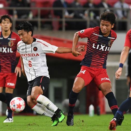天皇杯ベスト4が決定! Honda FCは鹿島相手に健闘むなしく惜敗