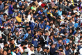 26000人を越える観客がエディオンスタジアムに駆けつけた|写真:茂木あきら(サッカーダイジェスト写真部)