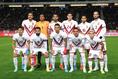 左上の23番がベネズエラ代表のサロモン・ロンドン|写真:茂木あきら(サッカーダイジェスト写真部)
