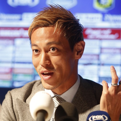「指導した中で最高の選手」本田圭佑にフィテッセ指揮官が太鼓判!