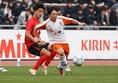 MF紺野和也(法政大→FC東京)写真:茂木あきら(サッカーダイジェスト写真部)