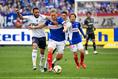 アルトゥール・シルバと畠中|写真:サッカーダイジェスト