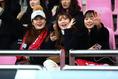 韓国サポーター|写真:茂木あきら(サッカーダイジェスト写真部)