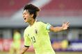 2014年10月13日U-19選手権ミャンマーGS第3戦日本代表対韓国代表|写真:サッカーダイジェスト