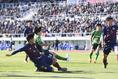 【選手権PHOTO】昌平2-0興國|ゴールを決める須藤直輝|写真:浦正弘