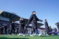 【静岡学園2-0今治東】入場する両チームの選手たち|写真:山崎賢人(サッカーダイジェスト写真部)