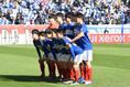 【NEXT GENERATION MATCH PHOTO】横浜Mユーススターティングメンバー。写真:徳原隆元