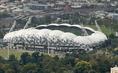 メルボルン・レクタンギュラー・スタジアム(メルボルン・シティ/オーストラリア)|アリアンツ・アレーナ同様、ETFE膜で覆われている。 (C)Getty Images