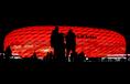 アリアンツ・アレーナ(バイエルン・ミュンヘン/ドイツ)|繭のような外観は半透明の特殊フィルムETFE(旭硝子製)で覆われておりスタジアム内から景色を眺めることができる。 (C)Getty Images