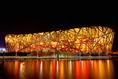 北京国家体育場(北京・中国)|中国最大のスタジアムで8万人収容が可能。 (C)Getty Images