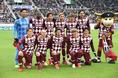 【神戸 1-1 横浜FC PHOTO】神戸スターティングメンバー。写真:徳原隆元