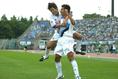 2004年9月18日J2第34節湘南対川崎 写真:サッカーダイジェスト