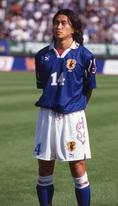 1996-1997 岡野雅行|写真:サッカーダイジェスト
