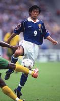 1998-1999 中山雅史|写真:サッカーダイジェスト