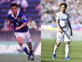 【PHOTO】遠藤保仁/ガンバ大坂(左:1997年/右:2020年)|写真:サッカーダイジェスト