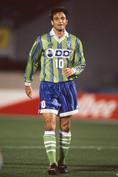 1997年/呂比須ワグナー|写真:サッカーダイジェスト