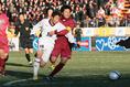 2012年1月7日選手権準決勝 尚志対四日市中央工業|写真:サッカーダイジェスト