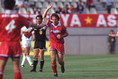 1993年5月16日鹿島5-0名古屋/「サッカーの神様」ジーコが開幕戦から圧巻のハットトリック!|写真:サッカーダイジェスト