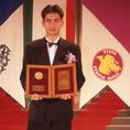 1995年/GKの川口能活が新人王を受賞|写真:サッカーダイジェスト