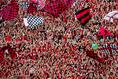 埼玉スタジアムは、熱狂的な浦和レッズサポーターで満員に|写真:サッカーダイジェスト