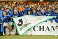 2005年、恐ろしい最終節を乗り越え初優勝を飾ったガンバ大阪|写真:サッカーダイジェスト