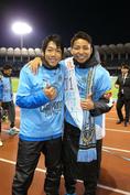 中村憲剛(MF)、小林悠(FW)|写真:サッカーダイジェスト
