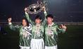 左から北澤豪(MF)、加藤久(DF)、柱谷哲二(DF)|写真:サッカーダイジェスト