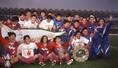 【1冠】1996年/Jリーグ/J史上初の通年制で20冠への第一歩となる優勝を果たす|写真:サッカーダイジェスト