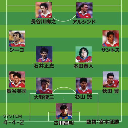 岡野雅行が選ぶJ歴代最強チーム「大学生の時にジーコと対戦して…」