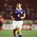 井原正巳(122試合/5ゴール)|写真:サッカーダイジェスト