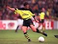 アンドレアス・メラ―(MF/元ドイツ代表/在籍期間88~90年、94~00年/10番を背負ったシーズン:95-96~99-00/10番時代の公式戦成績:171試合・44得点・51アシスト)|写真:Getty Images