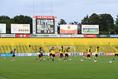 【J1第2節PHOTO】柏0-1FC東京|サポーターも画面越しに見守った|写真:金子拓弥(サッカーダイジェスト写真部)