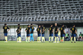 【PHOTO】集合写真に収まる栃木の選手たち|写真:山崎賢人(サッカーダイジェスト写真部)