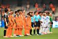 【J1第9節PHOTO】清水3-1札幌|選手入場|写真:金子拓弥(サッカーダイジェスト写真部)