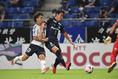 【J1第9節PHOTO】G大阪 2-1 横浜FC|G大阪の守備陣を鉄壁とする最後のピース。それが昌子(3番)だ。写真:徳原隆元