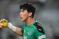 【J1第9節PHOTO】C大阪 0-0 FC東京|終始、安定感のあるプレーで最終ラインを引き締めたキム・ジンヒョン写真:徳原隆元