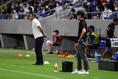 【J1第13節PHOTO】G大阪1-3FC東京|FC東京を率いる長谷川健太監督|写真:金子拓弥(サッカーダイジェスト写真部)