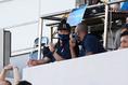 【J1第13節PHOTO】横浜FC1-2C大阪|スタンドから見守る三浦知良|写真:金子拓弥(サッカーダイジェスト写真部)