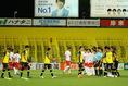 【J1第17節PHOTO】柏1-1広島|入場する両チーム。写真:滝川敏之
