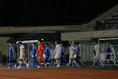 【J2第28節PHOTO】町田0-0福岡|町田、福岡、両チームの入場。写真:滝川敏之