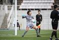 【選手権長野予選PHOTO】上田西0(4PK5)0松本国際|GK矢口がPKをストップ。写真:滝川敏之