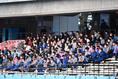 【選手権神奈川予選PHOTO】横浜創英0-1桐蔭学園|横浜創英を後押しする部員・保護者|写真:金子拓弥(サッカーダイジェスト写真部)
