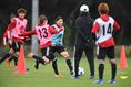 【なでしこチャレンジトレーニングキャンプPHOTO】写真:徳原隆元
