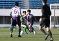 【高校サッカー選手権1回戦PHOTO】東海学園0-2明徳義塾|佐藤汰一|写真:榎本誉士