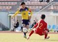 【高校サッカー選手権1回戦PHOTO】関東第一4-0山辺 笠井のゴールシーン。写真:田中研治