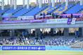 【高校サッカー選手権2回戦PHOTO】富山第一2-1日本文理大附|本日も一般客なしでの開催となった|写真:金子拓弥(サッカーダイジェスト写真部)