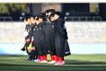 【高校サッカー選手権2回戦PHOTO】作陽1-2東福岡|選手入場|写真:金子拓弥(サッカーダイジェスト写真部)