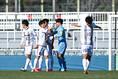 試合前の大手前 写真:早草紀子