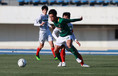 【高校サッカー選手権2回戦PHOTO】広島皆実0-2青森山田|松木玖生|写真:榎本誉士